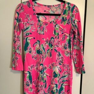 Lilly Pulitzer tucans dress